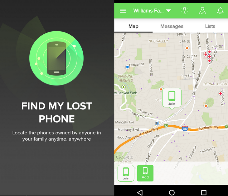 find my android phone